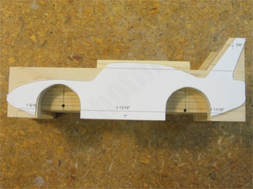 Pine derby templates for Kub car templates