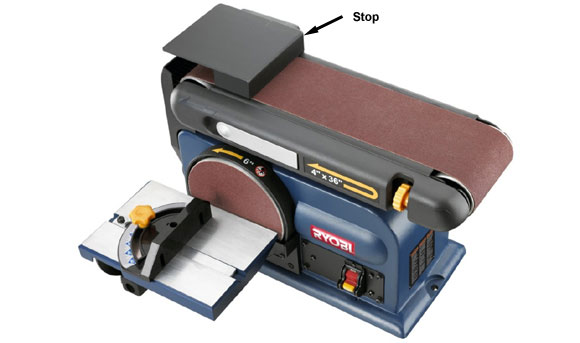 February 2012 pinewood derby stories and photos Bench belt sander