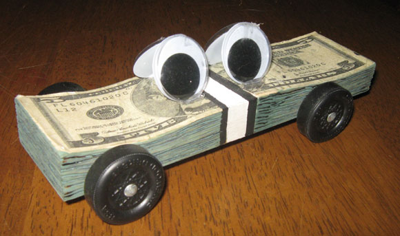 Pinewood derby times newsletter volume issue