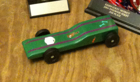 Pinewood Derby Times Volume 10 Issue 9 Maximum Velocity