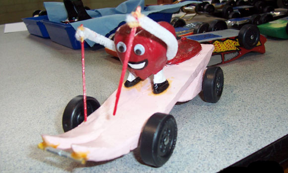Pinewood Derby Times Newsletter Volume 9 Issue 3