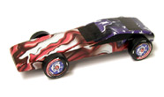 pinewood derby wheel flare
