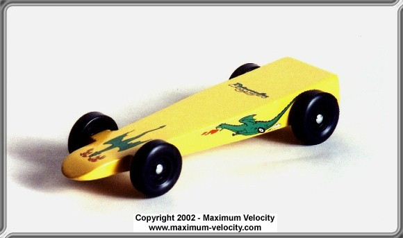 Pinewood Derby Car Plans 2