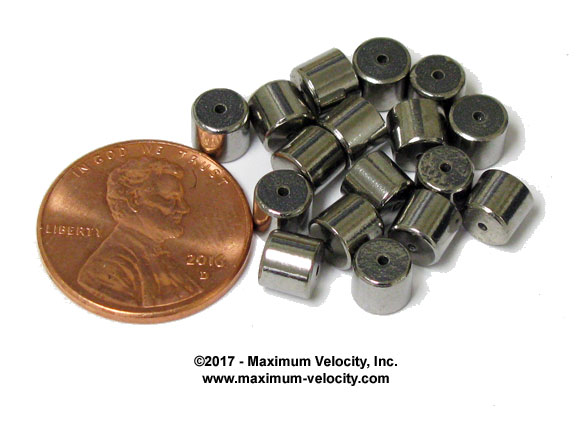 Micro Tungsten Cylinders