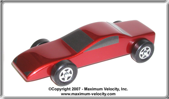 Pinewood Derby Car Plans 6 Maximum Velocity