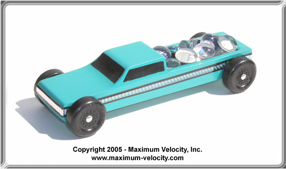 97 Revell Ford F 150 Raptor Pinewood Derby Truck Kit Pinewood