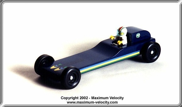 Pinewood Derby Car Plans 2 Maximum Velocity