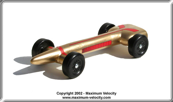 pinewood derby advanced car plans 2