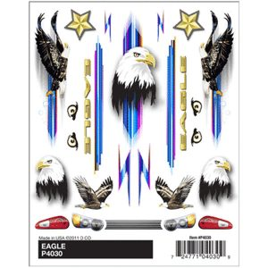 Eagle Dry Transfer Decals