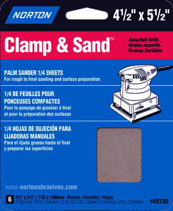 Sandpaper Assortment for Derby Cars
