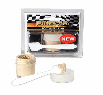 Body Putty - Pinewood Derby Cars