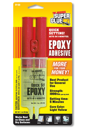 Epoxy Adhesive - Pinewood Derby Cars