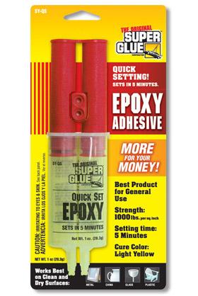 Epoxy Adhesive - Pinewood Derby Cars