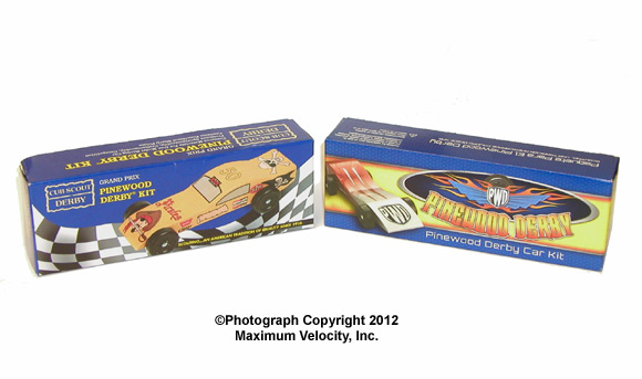 Pinewood Derby Car Kit Official BSA