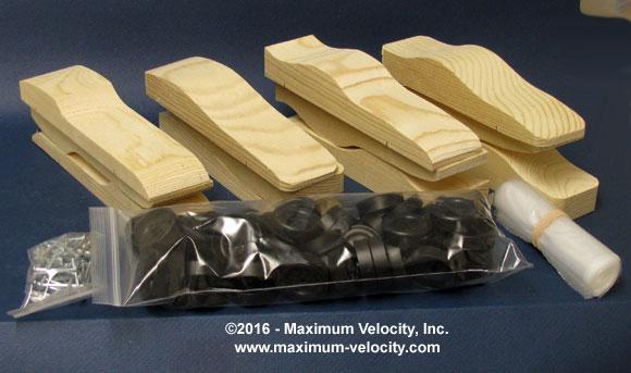 Pre-shaped MV Car Kit - Bulk Pack