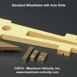 Vector Pinewood Derby Car Kit