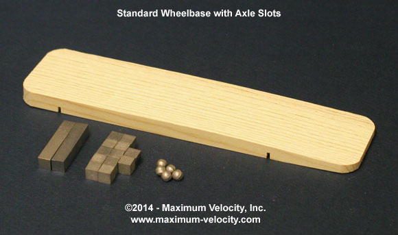 Wing Pinewood Derby Kit