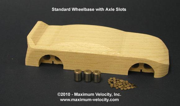 Stock Car Kit - Standard Axle Slots