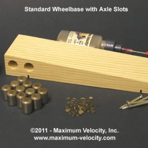 Wedge Pinewood Derby Bundle