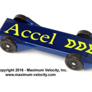 Pinewood Derby Accel Fenders
