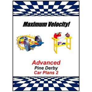 Pinewood Derby Advanced Car Plans 2