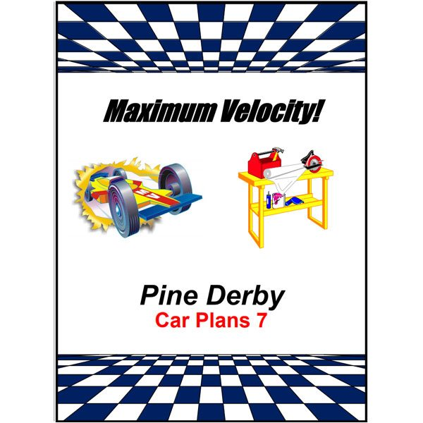 Pinewood Derby Car Plans 7