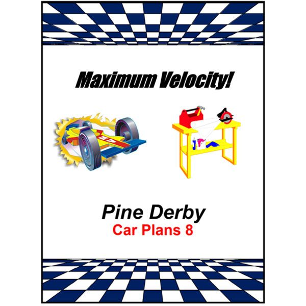 Pinewood Derby Car Plans 8