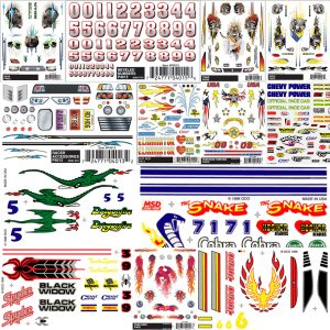Dry Transfer Decals