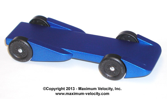 Pinewood Derby Aero Fenders