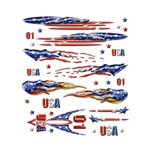 Freedom Runner Dry Transfer Decals