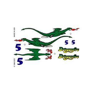 Dragonfire Dry Transfer Decals