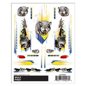 Wolf Dry Transfer Decals