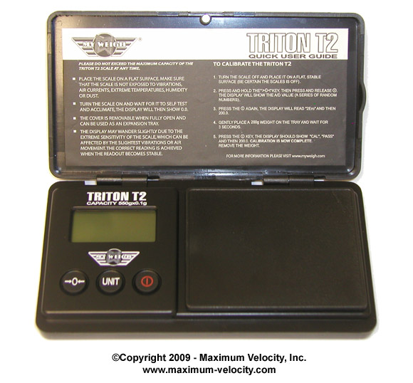 Triton T2 Digital Compact Scale