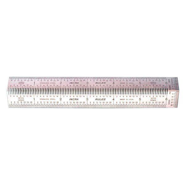 Incra 6 inch Precision Bend Rule