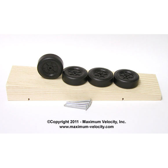 MV Wedge Pinewood Derby Car Kit