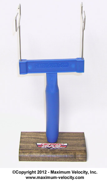 Pinewood Derby Paint Stand