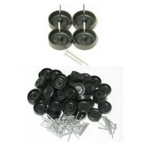 pinewood derby wheels long axles