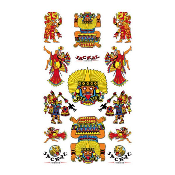 Awesome Aztec Sticker Decals