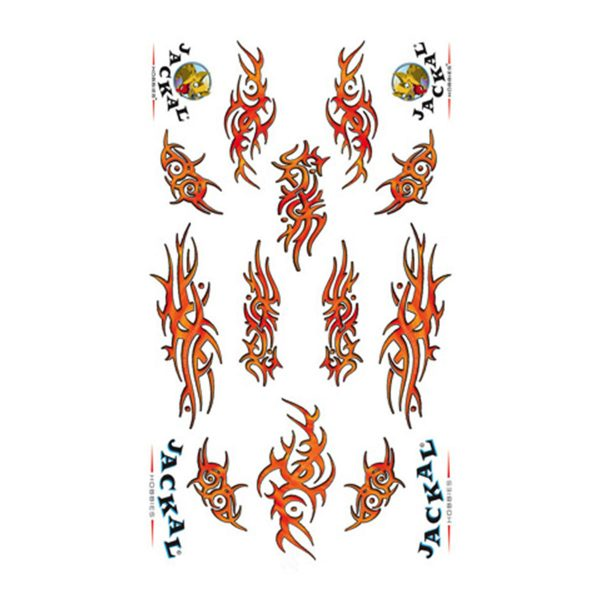 Tribal Lava Sticker Decals