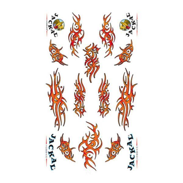 Tribal Lava Sticker Decals