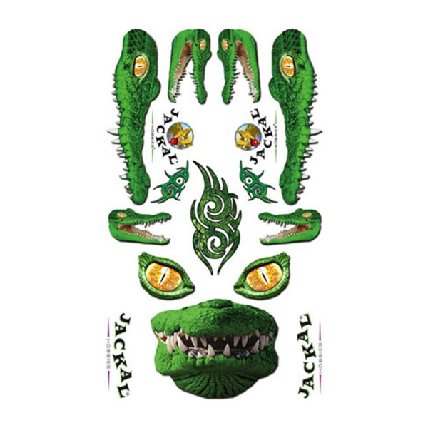 Gator Sticker Pinewood Derby Decals