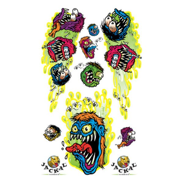 Monster Mash Sticker Decals