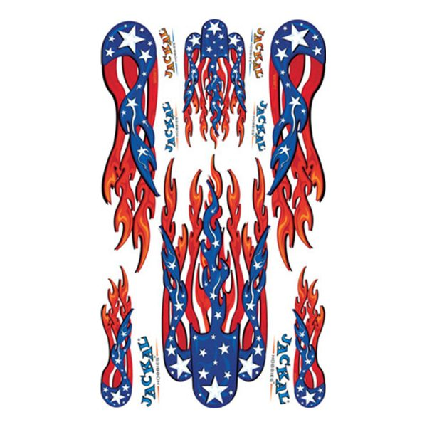 Patriot Sticker Pinewood Derby Decal