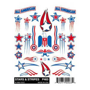 Stars and Stripes Sticker Decals