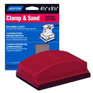 pinewood derby sandpaper holder