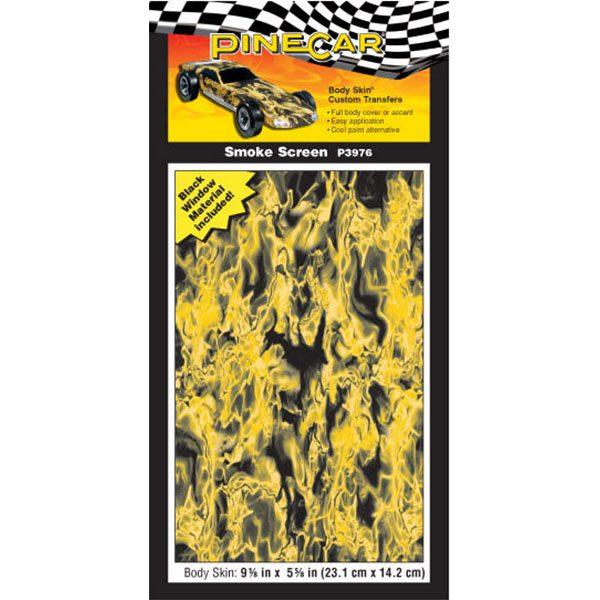 Smoke Screen Body Skin-Pinewood Derby