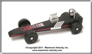 Pinewood Derby NitroRail Car