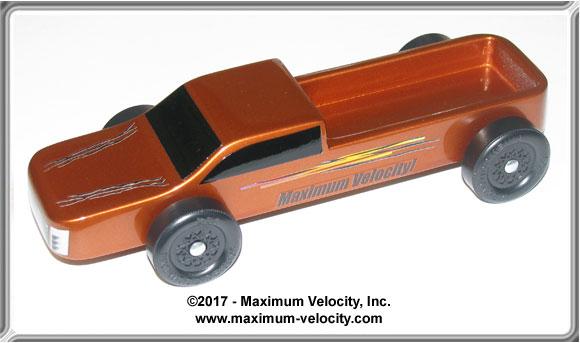 Truck Pinewood Derby Kit