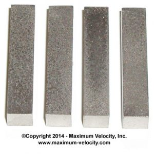 1/4 Inch Bars-Pinewood Derby Weight