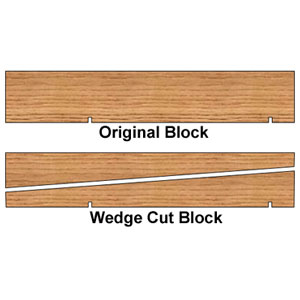 Pinewood Derby Block/Kit Option 9003